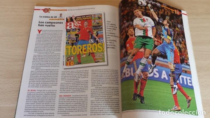 Coleccionismo deportivo: Revista Conmemorativa Campeones del Mundo de Futbol. Sudafrica 2010 - Foto 2 - 180261535