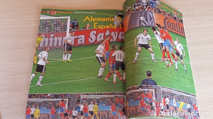 Coleccionismo deportivo: Revista Conmemorativa Campeones del Mundo de Futbol. Sudafrica 2010 - Foto 4 - 180261535