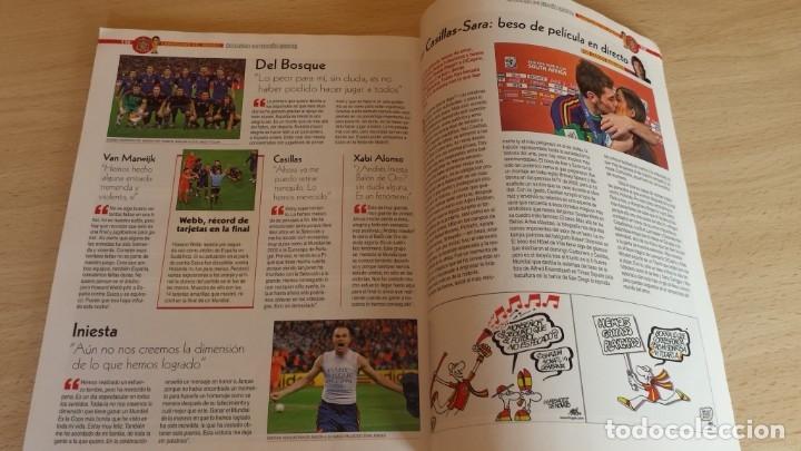 Coleccionismo deportivo: Revista Conmemorativa Campeones del Mundo de Futbol. Sudafrica 2010 - Foto 5 - 180261535
