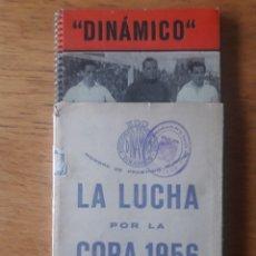 Coleccionismo deportivo: LA LUCHA POR LA COPA 1956 SELLADO POR LA COMANDANCIA DE LA GUARDIA CIVIL / EDI. EDICIONES DEPORTIVAS. Lote 180332178