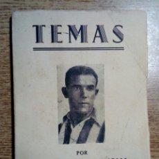 Collectionnisme sportif: TEMAS, POR MANUEL LÓPEZ LLAMOSAS, MANOLO TRAVIESO. (1957) ATHLETIC CLUB DE BILBAO. Lote 180488815