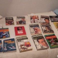 Coleccionismo deportivo: LIBROS DE FÚTBOL. LOTE DE 15. AÑOS 90. VARIADOS. RELIQUIA.. Lote 180905777
