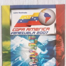 Coleccionismo deportivo: ALBUM PANINI. - COPA AMÉRICA VENEZUELA 2007 - #. Lote 180954665