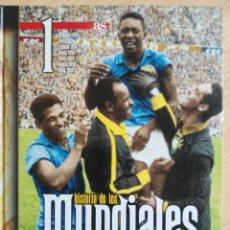 Coleccionismo deportivo: HISTORIA DE LOS MUNDIALES DE FUTBOL - AS 1 TOMO. Lote 181993781
