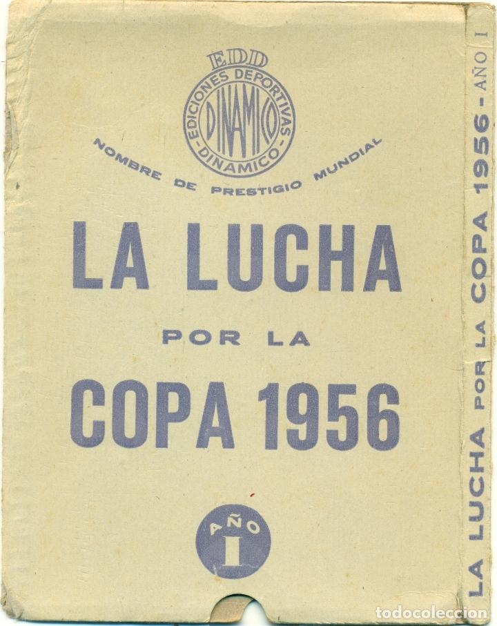 Coleccionismo deportivo: LUCHA POR LA COPA LOTE CON LOS AÑOS 1955-1956-157-1958-1959 DE DINAMICO ORIGINALES. TAMBIEN SUELTOS - Foto 3 - 182015681