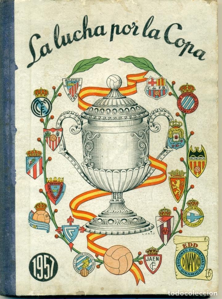 Coleccionismo deportivo: LUCHA POR LA COPA LOTE CON LOS AÑOS 1955-1956-157-1958-1959 DE DINAMICO ORIGINALES. TAMBIEN SUELTOS - Foto 4 - 182015681