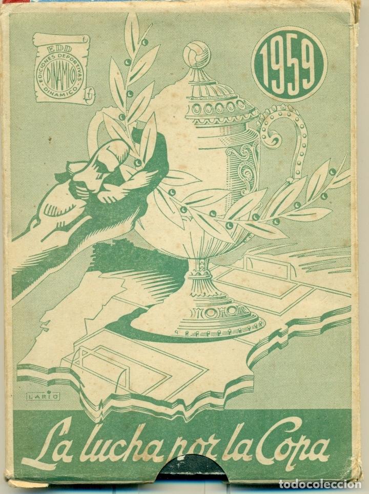 Coleccionismo deportivo: LUCHA POR LA COPA LOTE CON LOS AÑOS 1955-1956-157-1958-1959 DE DINAMICO ORIGINALES. TAMBIEN SUELTOS - Foto 7 - 182015681