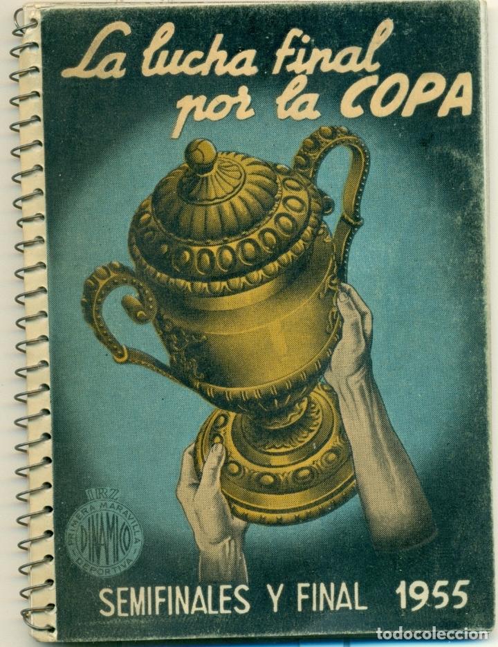 LUCHA POR LA COPA LOTE CON LOS AÑOS 1955-1956-157-1958-1959 DE DINAMICO ORIGINALES. TAMBIEN SUELTOS (Coleccionismo Deportivo - Libros de Fútbol)