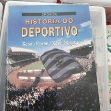 Coleccionismo deportivo: 1993 HISTORIA DO DEPORTIVO XESUS FLORES Y XOSE MEJUTO XERAIS. Lote 182062540