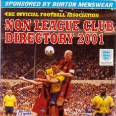 Coleccionismo deportivo: NON LEAGUE CLUB DIRECTORY 2001. Lote 182178921