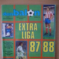 Colecionismo desportivo: DON BALÓN EXTRA LIGA 87/88. Lote 182178967