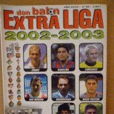 Coleccionismo deportivo: DON BALÓN EXTRA LIGA 2002-2003. Lote 182178970