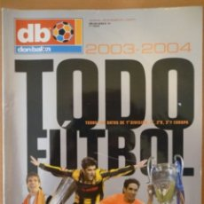 Coleccionismo deportivo: DON BALÓN TODO FÚTBOL 2003-2004. Lote 182179032