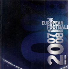 Coleccionismo deportivo: EUROPEAN FOOTBALL YEARBOOK 2008. Lote 182179136