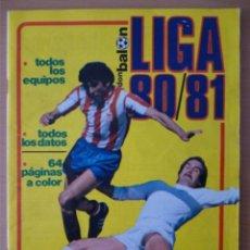 Coleccionismo deportivo: DON BALÓN LIGA 80/81. Lote 182179217