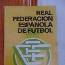 Colecionismo desportivo: R.F.E.F. ANUARIO 1987. Lote 204639807