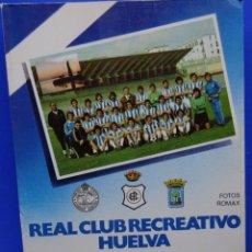 Coleccionismo deportivo: REAL CLUB RECREATIVO HUELVA. HISTORIA DE UN ASCENSO. Lote 182179385