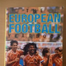 Coleccionismo deportivo: THE EUROPEAN FOOTBALL YEARBOOK 1988/89. Lote 182179651