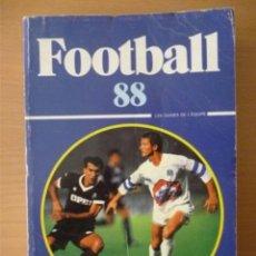 Coleccionismo deportivo: FOOTBALL 88. Lote 182179667