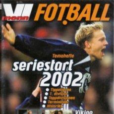 Coleccionismo deportivo: FOTBALL VI.MENN SERIESTART 2002. Lote 182179910
