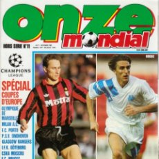 Colecionismo desportivo: SPÉCIAL COUPES DEUROPE 1992/93 H.S.11. Lote 182179978