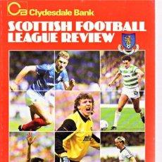 Colecionismo desportivo: SCOTTISH LEAGUE REVIEW 1987-88. Lote 182180008