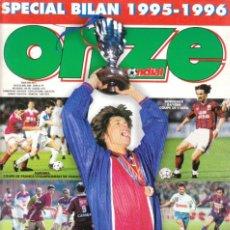 Coleccionismo deportivo: ONZE MONDIAL BILAN 1995-96. Lote 182180112