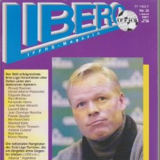 Coleccionismo deportivo: LIBERO INTERNATIONAL Nº 32. Lote 182180163