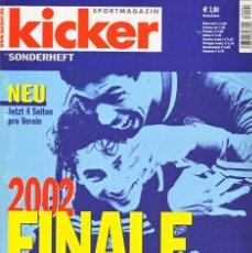 Coleccionismo deportivo: KICKER FINALE 2002/03. Lote 182180237
