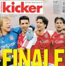 Coleccionismo deportivo: KICKER FINALE 04/05. Lote 182180240