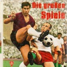Coleccionismo deportivo: DIE GROSSEN SPIELE 1968. Lote 182180792