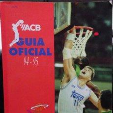 Colecionismo desportivo: ACB GUÍA OFICIAL 94-95. Lote 182181008