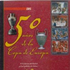 Coleccionismo deportivo: 50 AÑOS DE LA COPA DE EUROPA 2001-2005. Lote 182181100