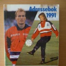 Coleccionismo deportivo: ADRESSEBOK 1991. Lote 182181232