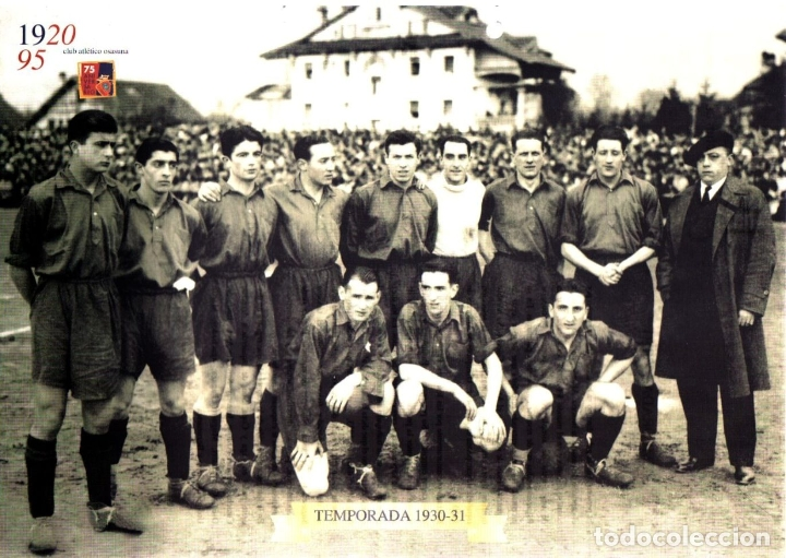 AT. OSASUNA 1920-95 COLECCIÓN INCOMPLETA LÁMINAS (Coleccionismo Deportivo - Libros de Fútbol)