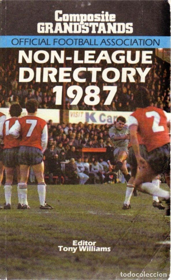 NON-LEAGUE DIRECTORY 1987 (Coleccionismo Deportivo - Libros de Fútbol)