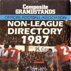 Coleccionismo deportivo: NON-LEAGUE DIRECTORY 1987. Lote 182182080