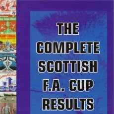 Colecionismo desportivo: COMPLETE SCOTTISH FA. CUP 1873-2004. Lote 182182132