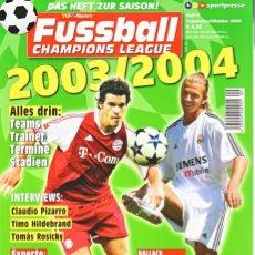 Coleccionismo deportivo: FUSSBALL CHAMPIONS LEAGUE 2003/04. Lote 182182522