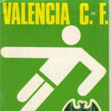 Coleccionismo deportivo: PROGRAMA VALENCIA CF-RCD ESPAÑOL 73/74. Lote 182182756