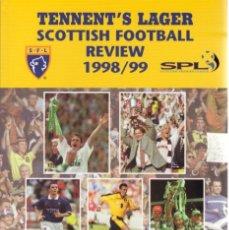 Coleccionismo deportivo: SCOTTISH FOOTBALL REVIEW 1998/99. Lote 182182907