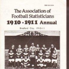 Coleccionismo deportivo: A.F.S. 1910-11 ANNUAL. Lote 182183032
