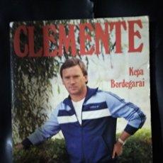 Collezionismo sportivo: CLEMENTE / KEPA BORDEGARAI 1985 / 156 PAGINAS CON FOTOS. Lote 182228342