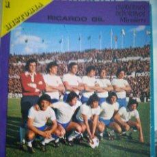 Coleccionismo deportivo: RICARDO GIL HISTORIA REAL ZARAGOZA. Lote 182507666