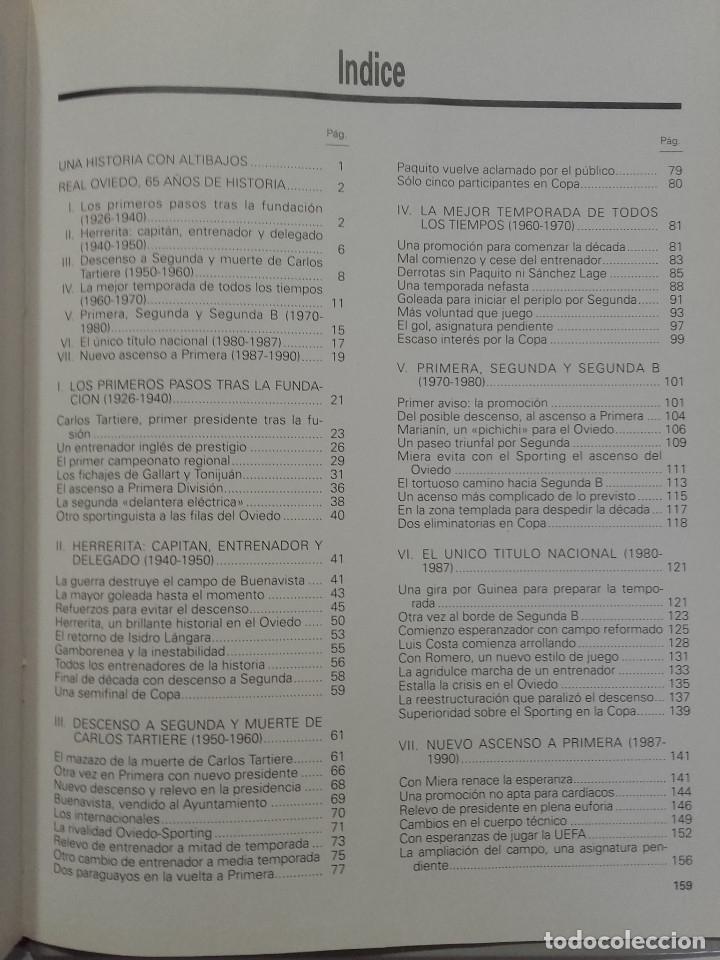 Coleccionismo deportivo: EQUIPOS CON HISTORIA - REAL OVIEDO - UNIVERSO EDITORIAL - 1990 - FUTBOL - Foto 2 - 182567243