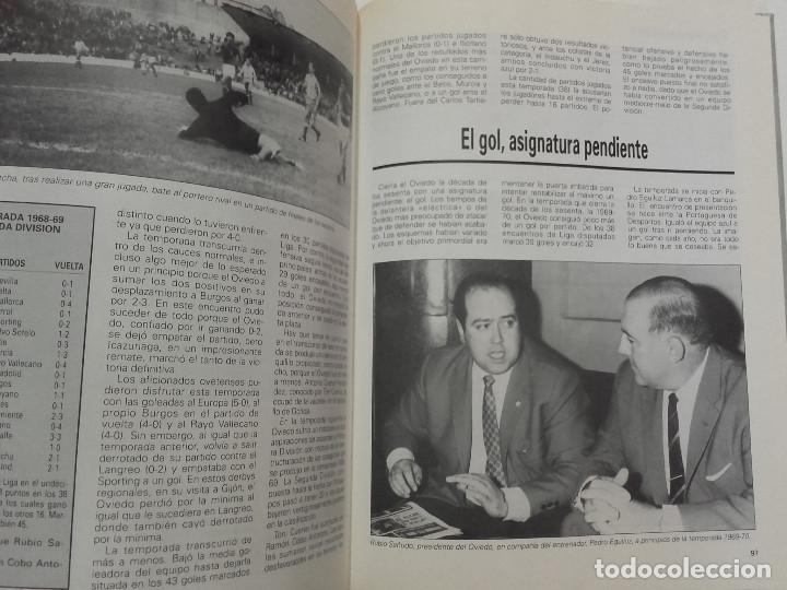 Coleccionismo deportivo: EQUIPOS CON HISTORIA - REAL OVIEDO - UNIVERSO EDITORIAL - 1990 - FUTBOL - Foto 4 - 182567243