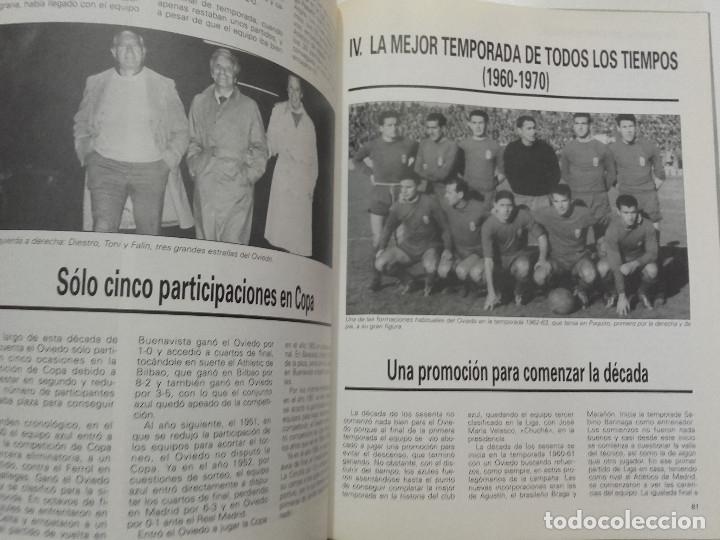 Coleccionismo deportivo: EQUIPOS CON HISTORIA - REAL OVIEDO - UNIVERSO EDITORIAL - 1990 - FUTBOL - Foto 5 - 182567243