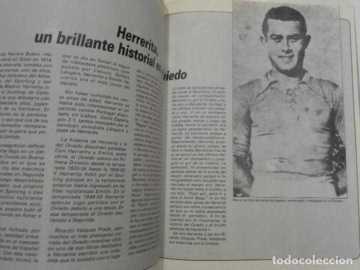 Coleccionismo deportivo: EQUIPOS CON HISTORIA - REAL OVIEDO - UNIVERSO EDITORIAL - 1990 - FUTBOL - Foto 7 - 182567243