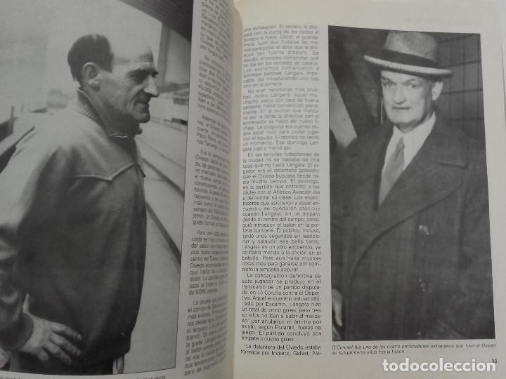 Coleccionismo deportivo: EQUIPOS CON HISTORIA - REAL OVIEDO - UNIVERSO EDITORIAL - 1990 - FUTBOL - Foto 8 - 182567243