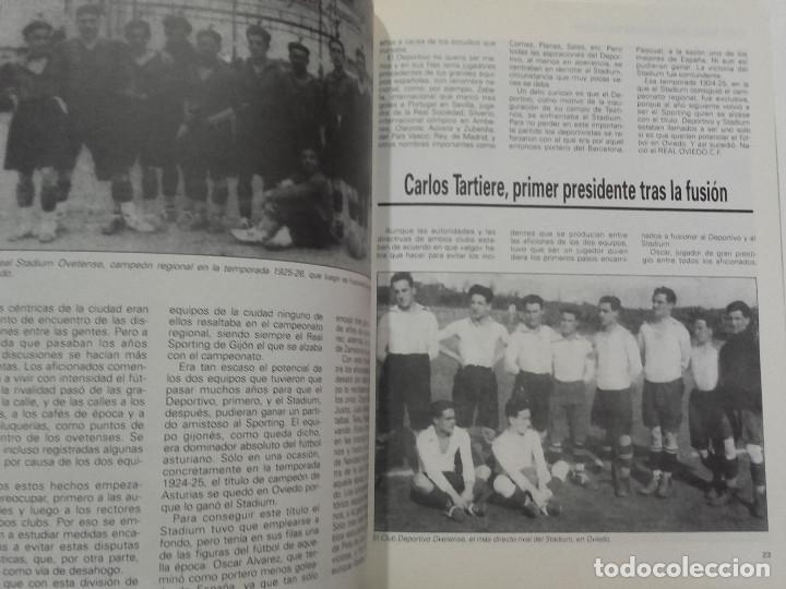 Coleccionismo deportivo: EQUIPOS CON HISTORIA - REAL OVIEDO - UNIVERSO EDITORIAL - 1990 - FUTBOL - Foto 9 - 182567243